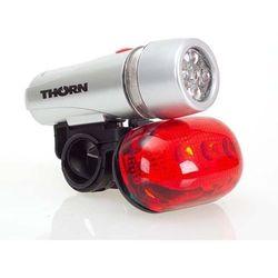 ZESTAW ROWEROWY LAMPKI LED + LICZNIK 14 FUNKCJI