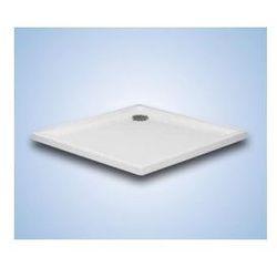 Brodzik kwadratowy Hüppe Xerano 90 x 90 x 6 cm, biały, bez obudowy 840302055
