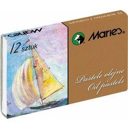 Pastele olejne 12 kolorów MARIE'S - KWTR260