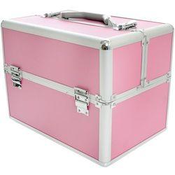 Kuferek kosmetyczny RÓŻOWY S - standardowy