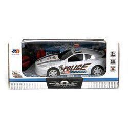 Zdalnie sterowane auto policyjne