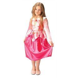 Disney Aurora Śpiąca Królewna kostium karnawałowy dla dziewczynki Jasnoróżowy