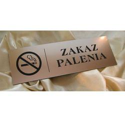 Tabliczka - zakaz palenia - wym. 30x10cm