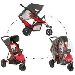 HAUCK Wózek podwójny Freerider SH 12 red