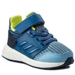 Buty adidas RapidaRun El I CQ0140 AshbluTraroyNobind