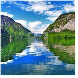 Fototapeta piękne krajobrazy z austriackich jezior