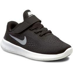 Buty NIKE - Nike Free Rn (Psv) 833991 001 Black/Metallic/Silver/Anthrct