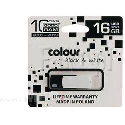 GOODRAM FLASHDRIVE 16GB USB 2.0 BLACK&WHITE