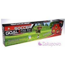 Bramka piłkarska z matą treningową piłka nożna #N1