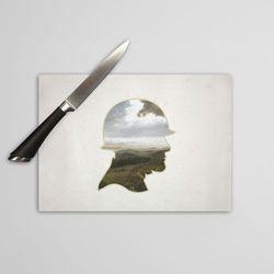 Szklana deska do krojenia: Żołnierz