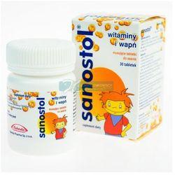Sanostol - 30 tabletek Musujących Do Ssania