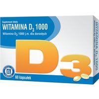 Witamina D3 1000 60kaps