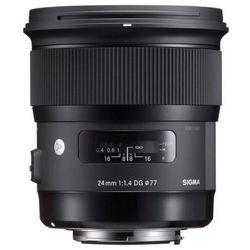Obiektyw SIGMA A 24/1.4 DG HSM Nikon + DARMOWY TRANSPORT!