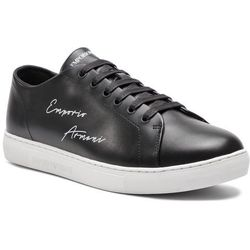 0667fc79d083 Sneakersy EMPORIO ARMANI - X4X261 XF332 00002 Black