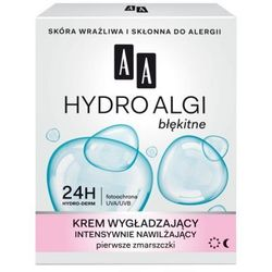 AA Hydro Algi Krem wygładzający Intensywnie nawilżający