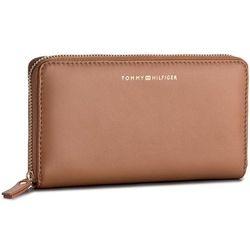 4e0b5428118c4 Duży Portfel Damski TOMMY HILFIGER - Smooth Leather Za Wallet AW0AW05138 295