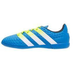 adidas Performance ACE 16.3 IN Halówki shock blue/semi solar slime/white