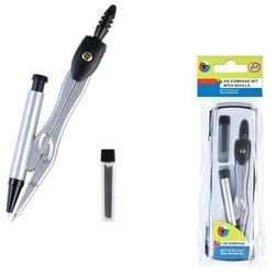 Starpak, cyrkiel metalowy i ołówek automatyczny, zestaw Darmowa dostawa do sklepów SMYK