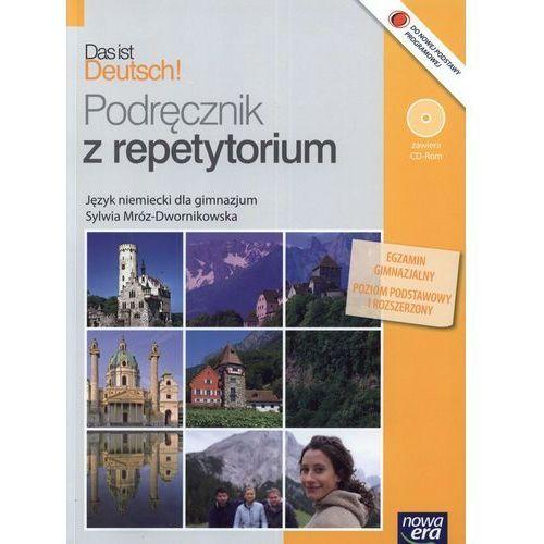 Das ist Deutsch! Gimnazjum. Język niemiecki. Podręcznik z repetytorium (+CD) (opr. miękka)