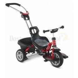 PUKY CAT S2 CEETY rowerek trójkołowy i spacerówka kolor czerwony