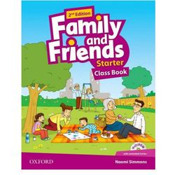 Family and Friends: Starter: Class Book (opr. broszurowa)