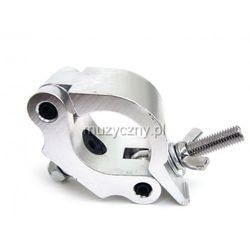 Duratruss PRO CLAMP 50mm 500kg Half Coupler - hak aluminiowy - obejma na rurę fi 50mm