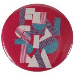 plakietka Funstorm Buttons AU02316 - Pink