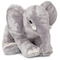 Słoń afrykański z trąbą w dół 25 cm