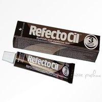 Profesjonalna henna żelowa do brwi i rzęs RefectoCil - brązowa 15 ml