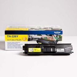 Brother oryginalny toner TN-326Y, yellow, 3500s, Brother HL-L8350CDW, DCP-L8400CDN
