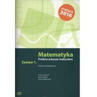 Matematyka Próbne arkusze maturalne Zestaw 1 Poziom podstawowy - Wysyłka od 3,99 - porównuj ceny z wysyłką (opr. miękka)