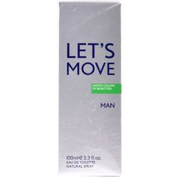 Benetton Lets Move Woda toaletowa 100 ml spray
