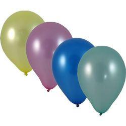 Balony do nadmuchiwania metaliczne mix 30 sztuk
