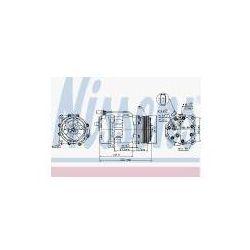 NISSENS Kompresor, klimatyzacja - 89117