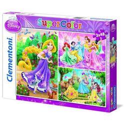 Puzzle Księżniczki 3x48