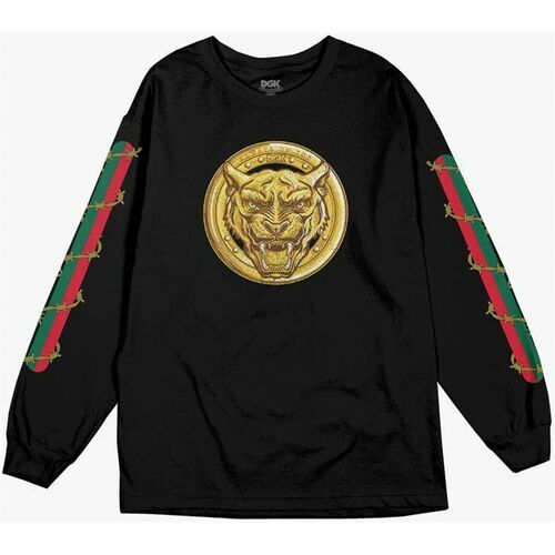 koszulka DGK - Always On Top L/S Tee Black (BLACK) rozmiar: L