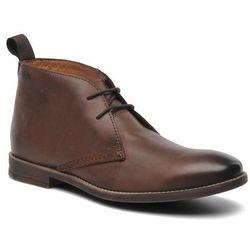 Buty sznurowane Clarks Novato Mid Męskie Brązowe 100 dni na zwrot lub wymianę