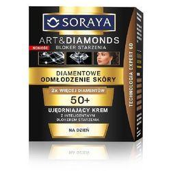 SORAYA ART AND DIAMONDS DIAMENTOWE ODMŁODZENIE SKÓRY UJĘDRNIAJĄCY KREM NA DZIEŃ 50+ NEW 50ML