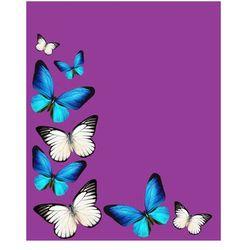 Koc polarowy Butterfly 150x200 cm Domarex