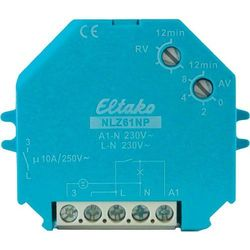 Wyłącznik czasowy Eltako NLZ61-230V, 1 - 12 min, 10 A, 230 V.