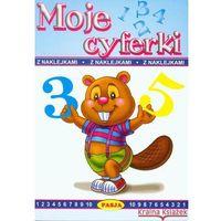 MOJE CYFERKI Z NAKLEJKAMI (opr. broszurowa)