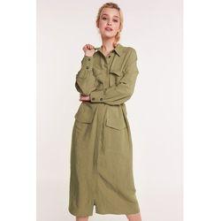 077c43018f suknie sukienki new look petite sukienka koszulowa khaki - porównaj ...