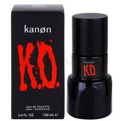Kanon K.O. woda toaletowa dla mężczyzn 100 ml + do każdego zamówienia upominek.
