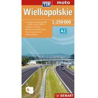 Mapa samochodowa. Województwo wielkopolskie. TIR (opr. broszurowa)
