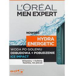 L'Oréal Paris, Men Expert Hydra Energetic, Woda po goleniu Ice Impact, 100 ml Darmowa dostawa do sklepów SMYK