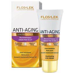 FLOS-LEK Anti-Aging Gold & Energy Rozświetlający krem pod oczy