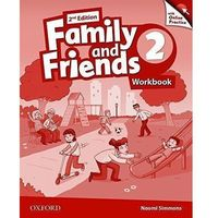 Family and Friends: Level 2: Workbook & Online Skills Practice Pack (opr. broszurowa)