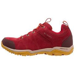 Columbia FIRE VENTURE WATERPROOF Półbuty trekkingowe red dahlia/bonfire
