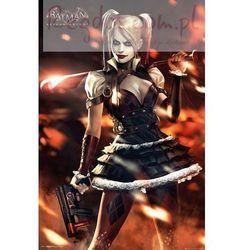 Batman Arkham Knight Harley Quinn Fire - plakat
