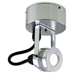 Zewnętrzna LAMPA ścienna GZ/ELITE3/S CLEAR Elstead reflektorowa OPRAWA sufitowa PLAFON LED 1W IP54 outdoor aluminium